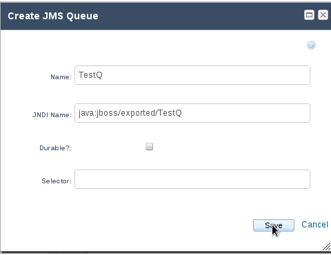 How to connect to a remote queue in JBoss AS 7 ? « JBoss