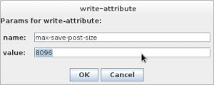 Started JBoss CLI in GUI Mode_1