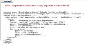 WLST Script To Get Server Details