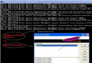 Restarting Apache & WebLogic