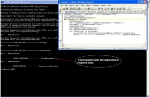Getting Application State using WLST