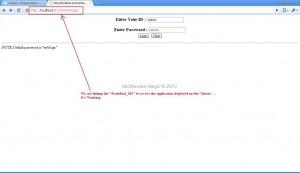Hitting_The Application_Through_WebLogic_Proxy
