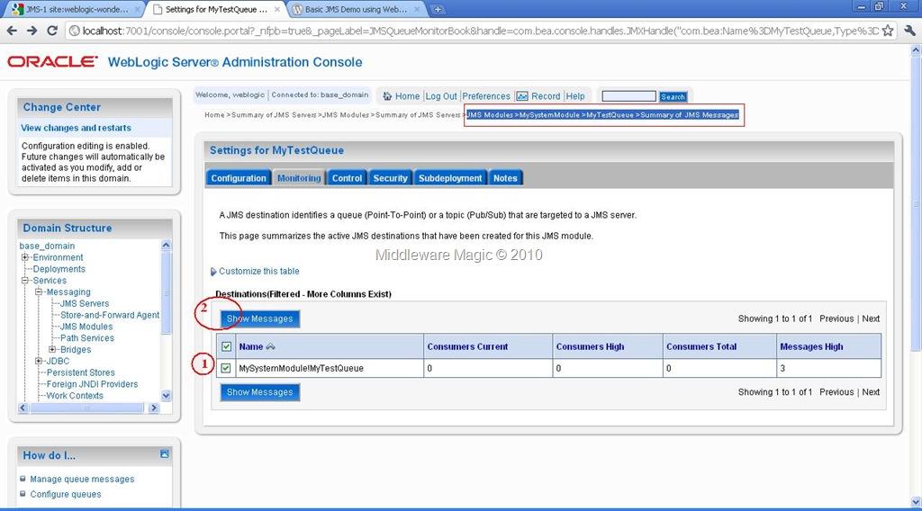 Hermes jms – revisited for weblogic server jms 10gr3 | oracle i am.