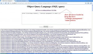 (OQL) Object Query Language Querie