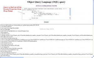 (OQL) Object Query Language Querries