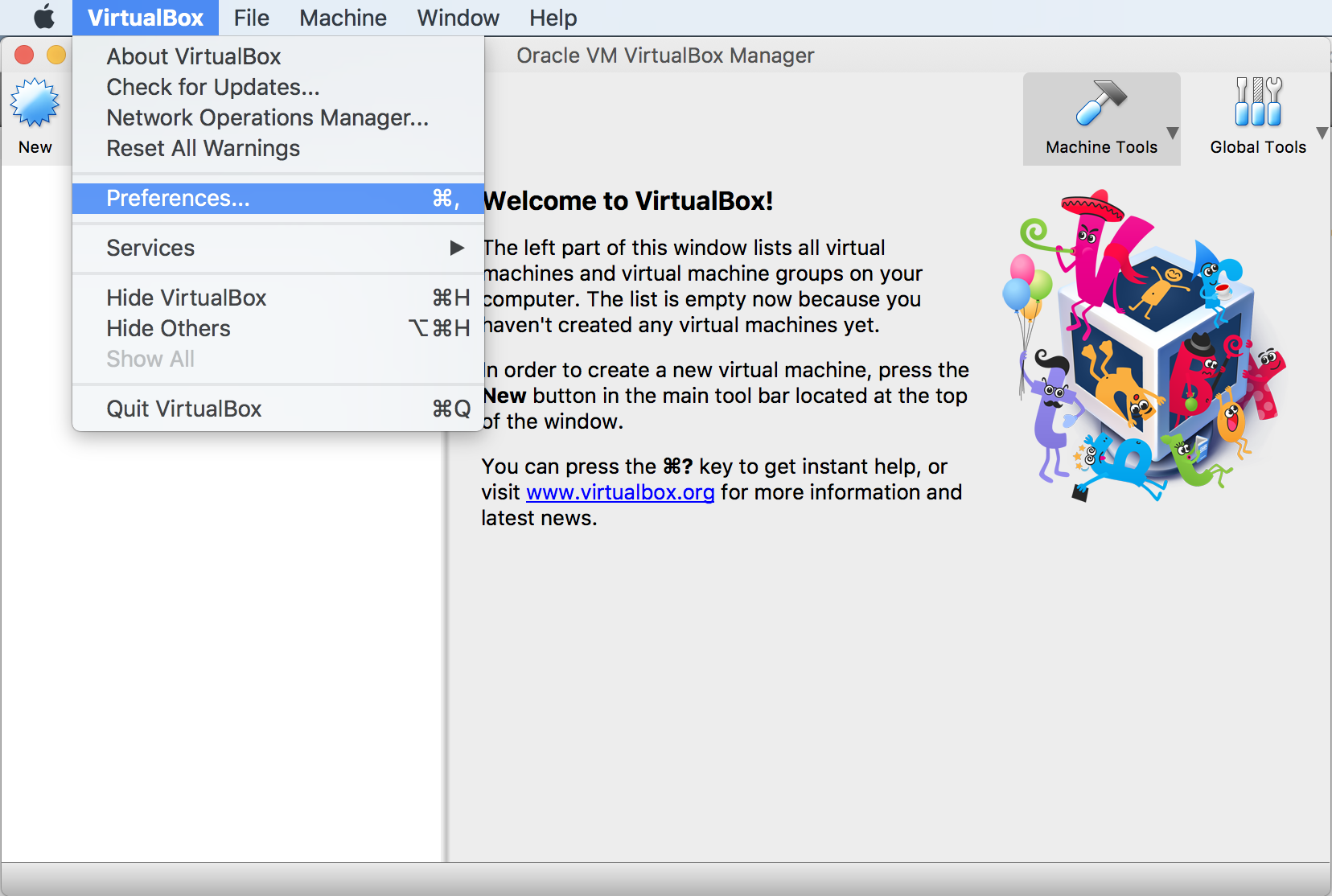 Weblogic global virtualbox network settings baditri Images